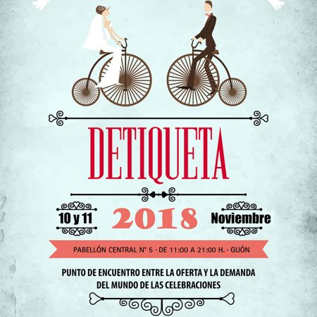 """Feria de Novios """"Detiqueta 2018"""" en Gijón"""